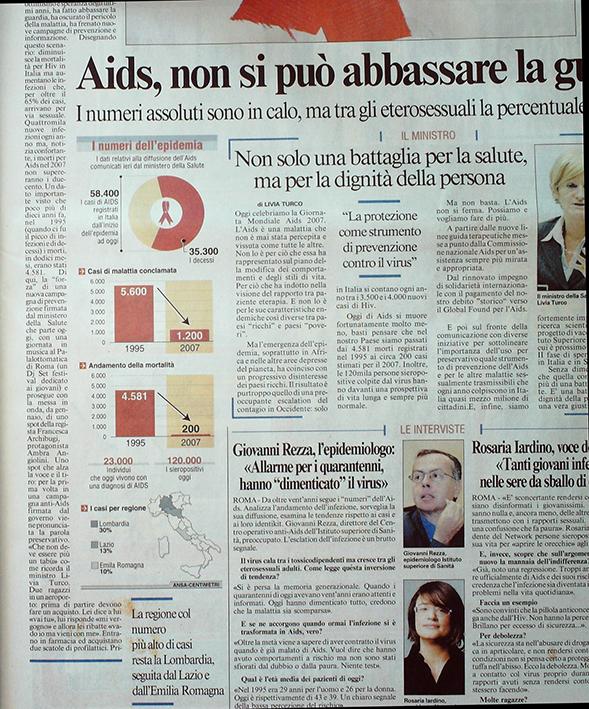 Messagero 1 dicembre 2007