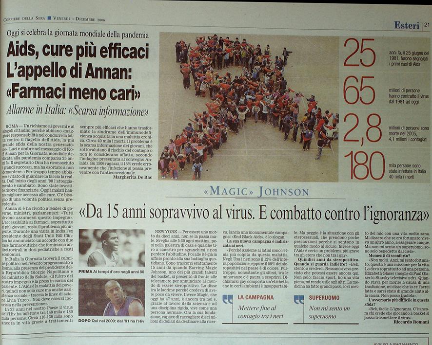 Corriere della Sera 1 dicembre 2006