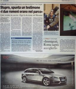 Corriere della Sera 10 Marzo 2009