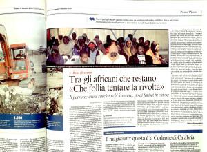 Corriere della sera 11 gennaio 2010