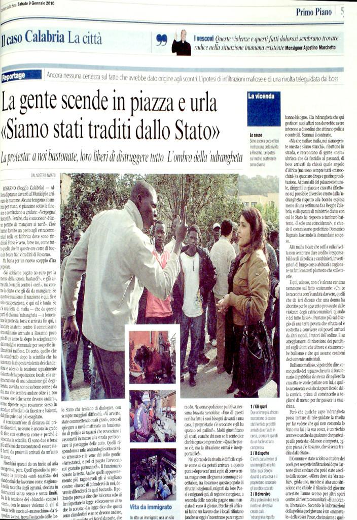 Corriere 9 gennaio 2010