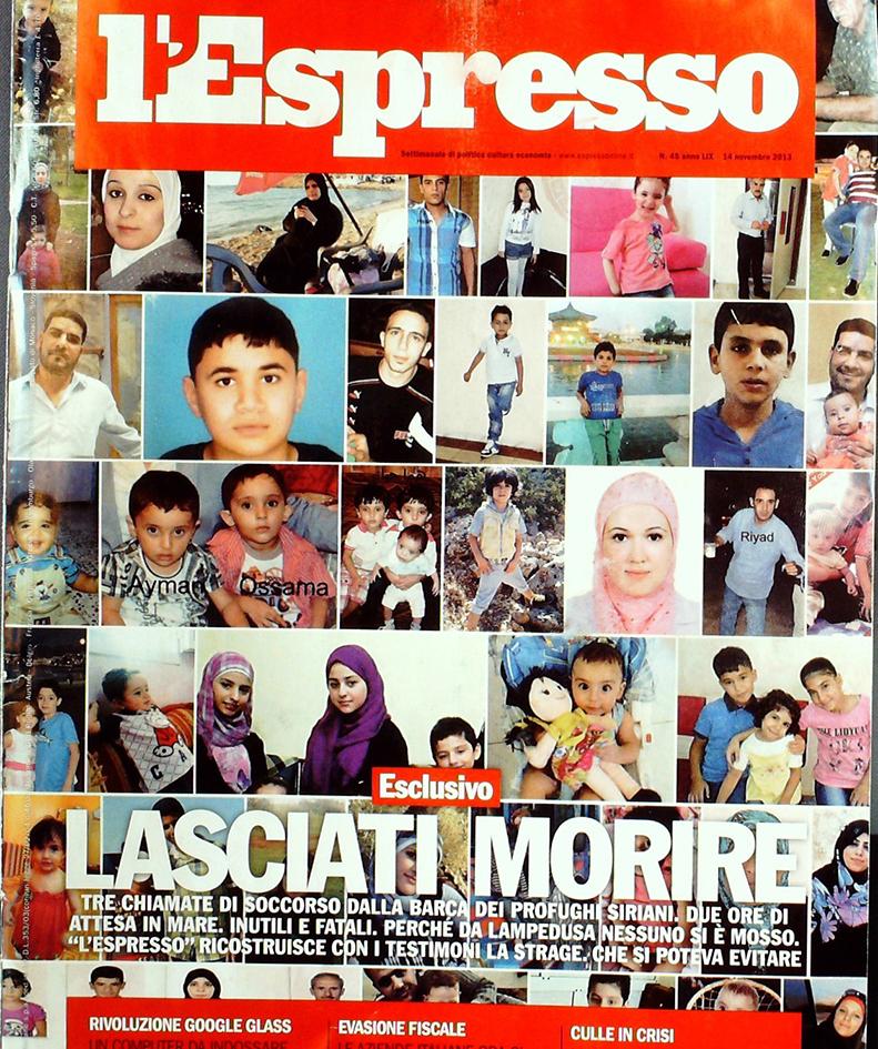 L'Espresso 14  novembre 2013