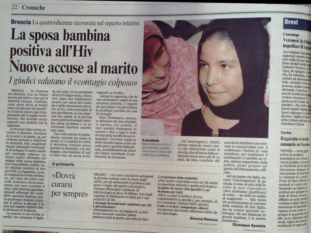 Corriere della sera febbraio 2010