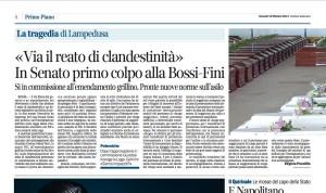 Corriere della Sera 10 ottobre 2013