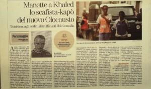 La Stampa  9 ottobre 2011