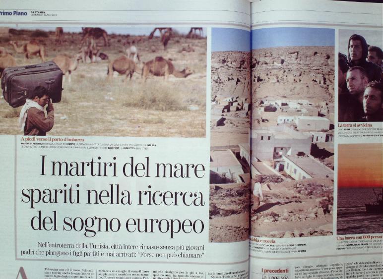 La stampa aprile 2011