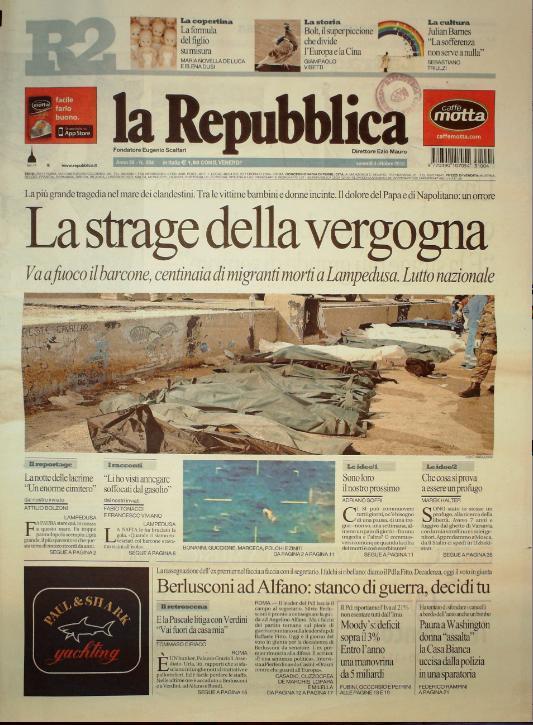 La Repubblica 4 ottobre 2010