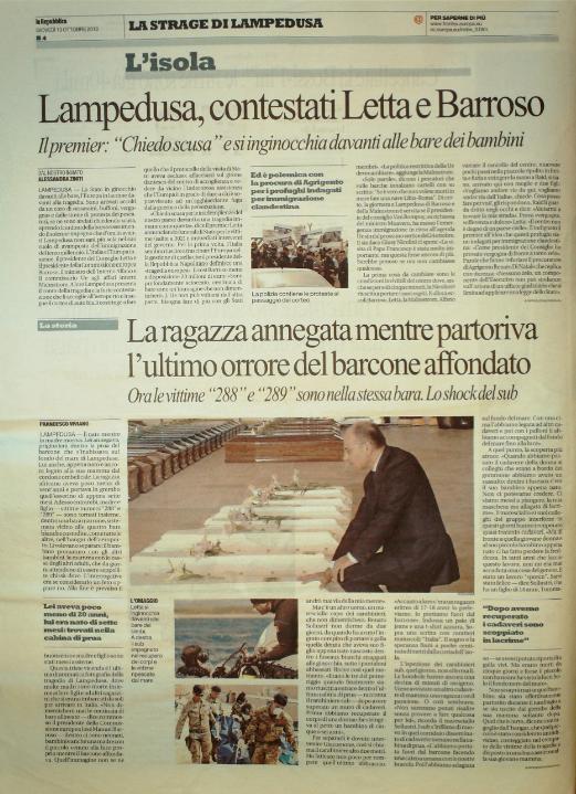 La Repubblica 10 ottobre 2010