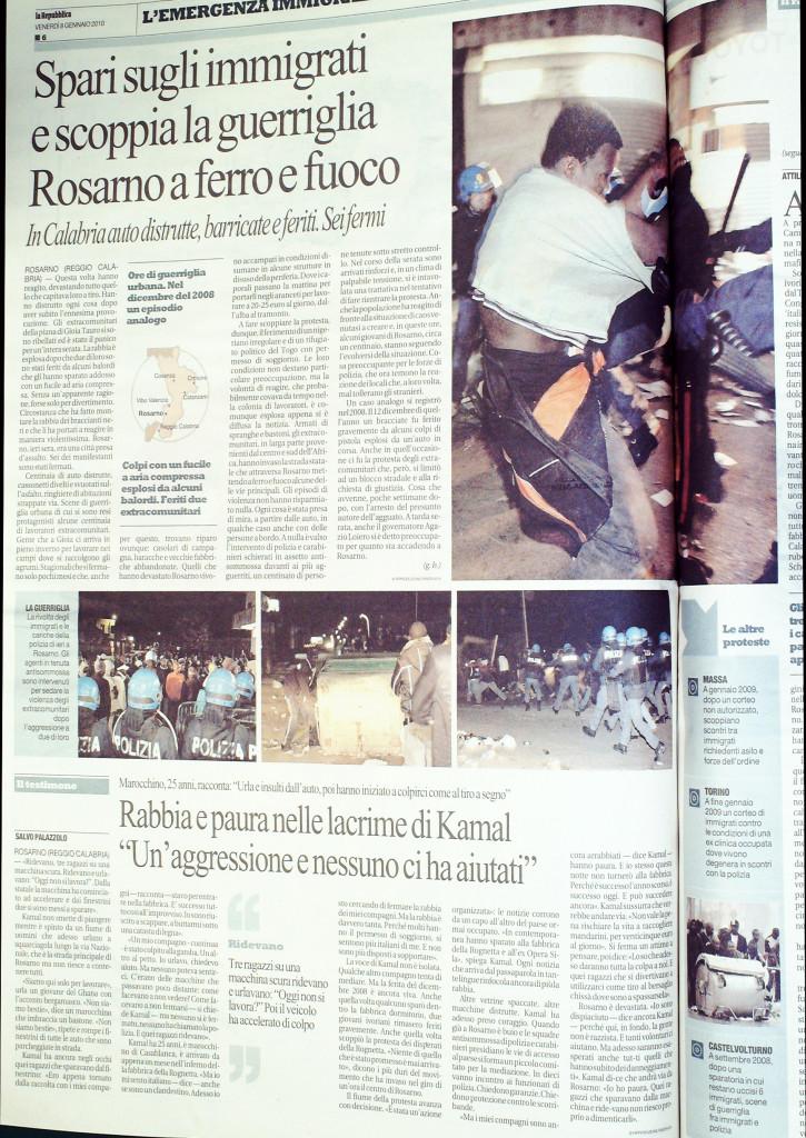 Repubblica 8 gennaio 2010