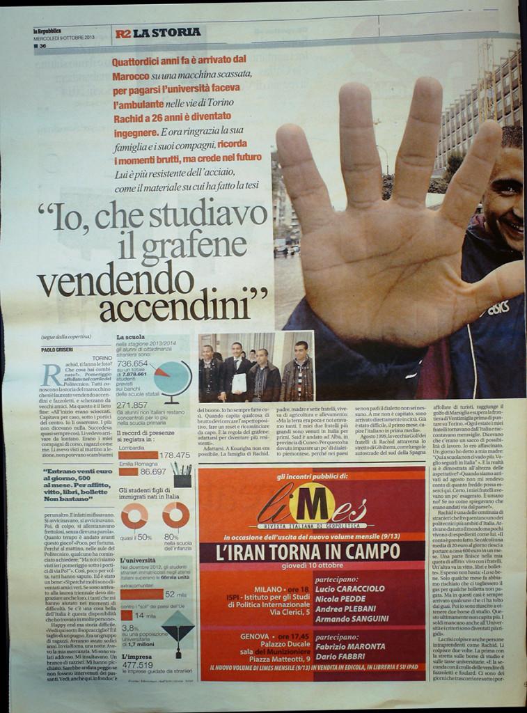 Repubblica Ottobre 2010