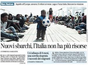 Corriere della Sera del 22 aprile 2014