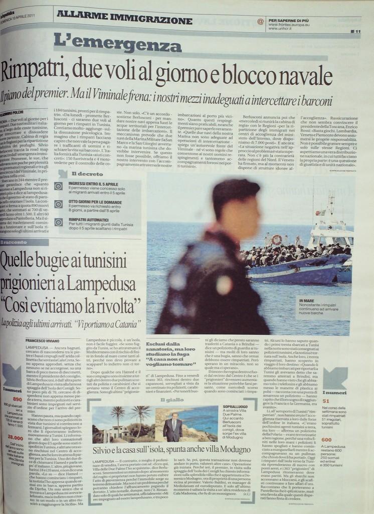 Repubblica del 10 aprile 2011