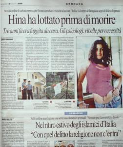 La Repubblica, 18 agosto 2006