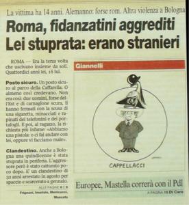 Corriere della Sera 16 Febbraio 2009