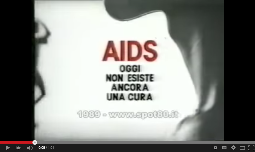 Hiv/Aids Campagna Ministeriale 1988