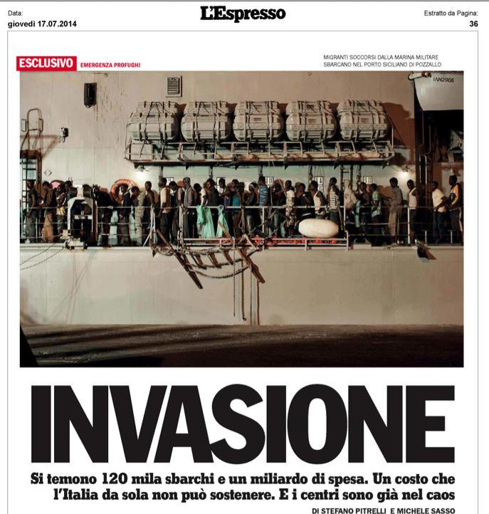L'Espresso 17 luglio 2014