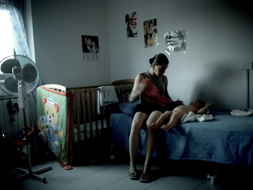Roma, agosto 2008 - Centro di accoglienza per donne che hanno subito violenze domestiche ©SimonaGhizzoni/contrasto