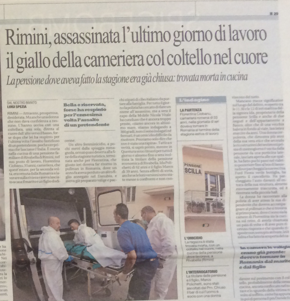 La Repubblica 20 settembre 2013