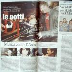 La Repubblica 1 dicembre 2007