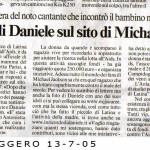 Il Messaggero 7 maggio 2013